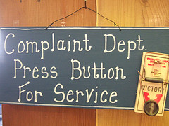 Complaint Dept by Life As Art at Flickr