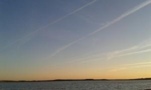 Summer Sky near by Alqueva